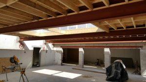 Eden internall view of roof